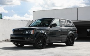 Picture Range Rover, Black, Sport, Luxury, lowered, HSE