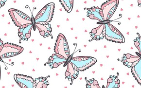 Wallpaper Butterfly, Background, Texture