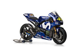 Wallpaper 2018, Yamaha M1, Movistar, YZR, racing bike