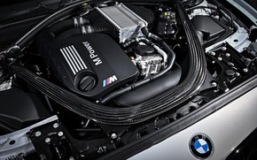 Picture engine, coupe, BMW, 2018, under the hood, F87, M2, M2 Competition, 410 HP