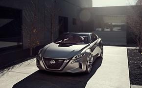 Picture Concept, the concept, Nissan, sedan, Nissan, Vmotion