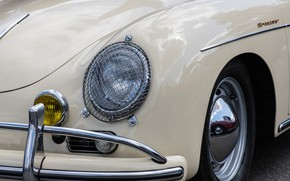 Picture design, headlight, Porsche, the front