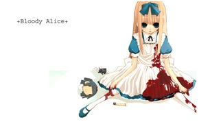 Picture blood, the victim, spot, Alice, madness returns, Madness Return, the dismemberment