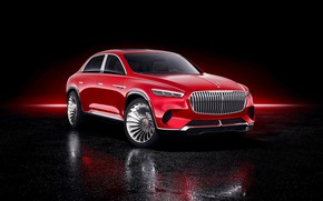Picture Mercedes-Benz, Vision, 2018, Mercedes-Maybach, electrocreaser, Ultimate Luxury