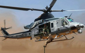 Picture Bell, Venom, Bell Helicopter Textron, multi-purpose helicopter, UH-1Y