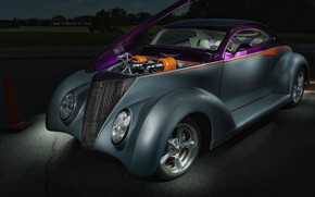 Picture Ford, Hot Rod, 1937, Window, Coupe 5