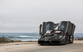 Picture Ferrari, Enzo, Black, Italia