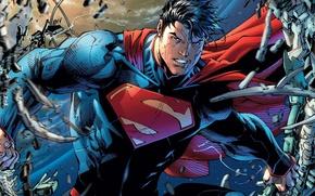 Picture cloak, comics, costume, superhero, fantasy, Superman, DC comics, Clark Kent, cape
