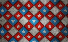 Picture line, pattern, star, square