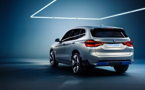 Picture Concept, rear view, 2018, electrocreaser, BMW iX3