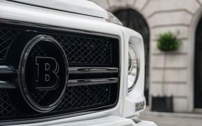 Picture Mercedes, Brabus, AMG, White, G63, W463