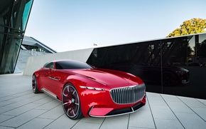 Wallpaper Concept, the concept, Mercedes, Vision, Mercedes
