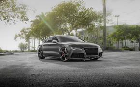 Picture Audi, VAG, RS7, Graphite