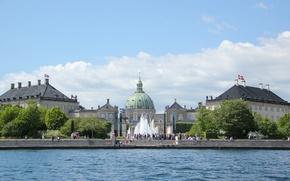 Picture garden, Denmark, fountain, attraction, Queen, Royal, Denmark, Baltika, Copenhagen, Royal, Copenhagen, Copenhagen, scumbria, Amalienborg, Amalienborg, …
