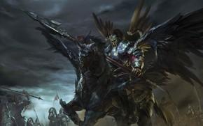 Picture the game, art, league of legends Xin Zhao skin, robin ruan