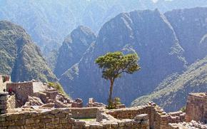 Picture Mountains, Landscape, the ancient city, Peru, Machu Picchu
