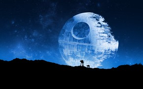 Picture Star Wars, AT-AT, The battle space station, Death Star II, The Death Star 2