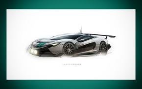 Picture Auto, Figure, Frame, Machine, Car, Car, Art, Art, Supercar, Rendering, Mclaren, Yasid Design, Yasid Oozeear, …