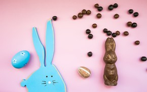 Picture candy, Easter, Eggs, Holiday, Chocolate Bunny