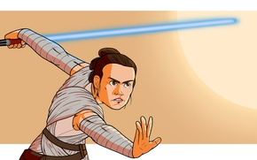 Picture Ray, Movie, Star Wars Episode VII: The Force Awakens, Rey