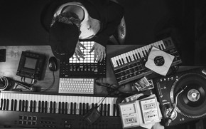 Picture Synthesizer, Musician, Instruments