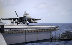 Picture FA-18F, carrier-based fighter, Super Hornet