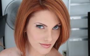 Picture girl, redhead, hair, cute, Lilith Lust, Rainia Belle