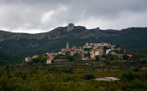 Picture mountains, Spain, Catalonia, Capafons