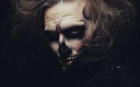 Picture demon, shadows, Makeup
