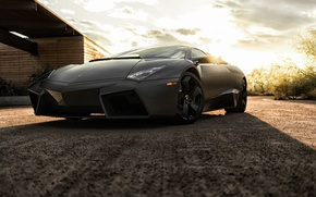 Wallpaper Reventon, supercar, Black, black, Lamborghini, Reventon, Lamborghini
