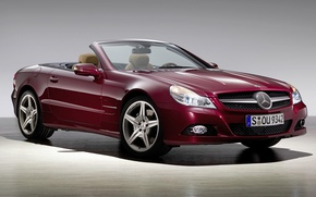 Picture Mercedes-Benz, convertible, SL-Class