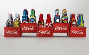 Picture bottle, drink, history, Coca Cola, disait
