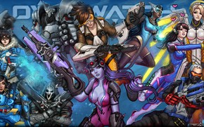 Picture Blizzard, female, overwatch