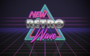 Picture Music, Neon, Background, Triangle, Electronic, Synthpop, Synth, Retrowave, Synth-pop, Sinti, Synthwave, Synth pop, New Retro …