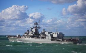 Picture ship, frigate, guard, Hetman Sahaidachny