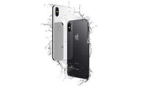 Picture Apple, iPhone, logo, hi-tech, smartphone, technology, iPhone X