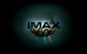 Wallpaper the inscription, space, fiction, The Avengers: infinity War, MARVEL, IMAX, comic, hand, background, asteroids, Avengers: ...