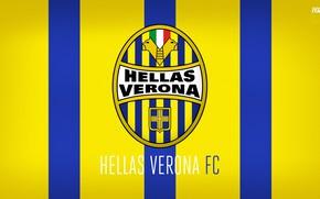 Picture wallpaper, sport, logo, football, Italia, Verona, Serie A