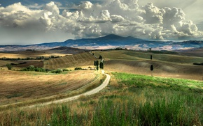 Picture Clouds, Summer, Tuscany