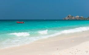 Picture sand, sea, wave, beach, summer, the sun, summer, sea, sand, tropical