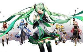 Picture drops, anime, Vocaloid, Vocaloid, Peroni