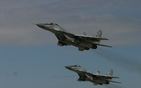 Picture flight, The MiG-29, The Russian air force, MiG-29/35 Fulcrum, frontline fighter