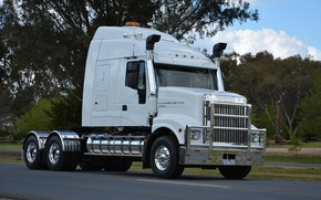 Picture White, Iveco, 7800, Powerstar