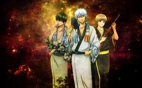 Picture anime, gintama, sakata gintoki, Gintama, gintoki, hijikata toshiro, okita sougo, gintoki and hijikata, Okita Sogo, …