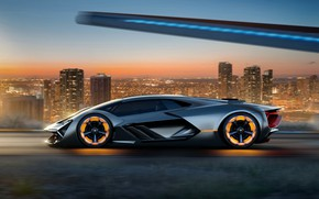 Wallpaper Concept, Lamborghini, The Third Millennium
