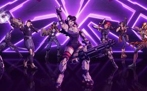 Picture girl, sword, gun, pistol, game, weapon, man, crossover, ken, blade, ninja, bow, rifle, shinobi, arrow, …