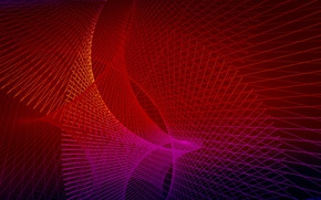 Picture line, background, fractal, geometry