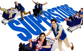 Picture look, the series, actors, smile, Movies, Supermarket, Superstore