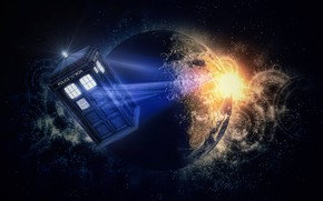 Picture space, Doctor Who, doctor, tardis