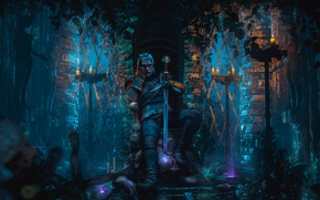 Picture sword, the Witcher, geralt, CD Projekt RED, The Witcher 3: Wild Hunt, The Witcher 3, …